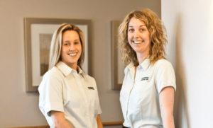 Regis Aged Care Respite - Carers smiling together