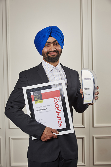 Regis 2015 Staff Awards Jagjeet