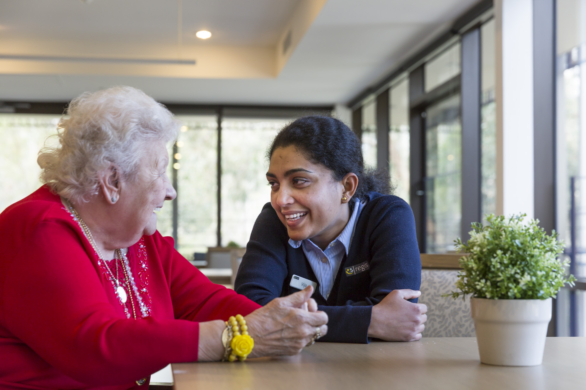 In Home Aged Care - Resident and Specialist conversation