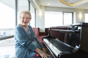 Regis Aged Care Facilities Armadale - Resident playing piano