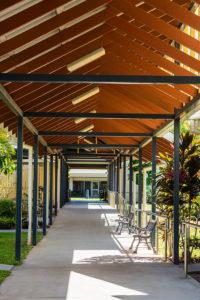 Regis Redlynch - Outside Walkway
