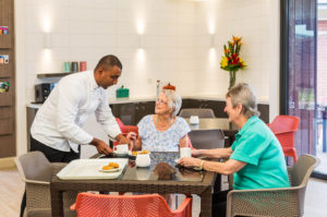 REGIS-CABOOLTURE-residents and chef