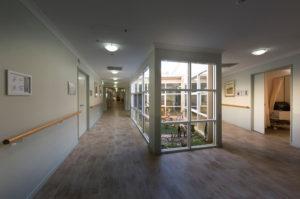 Regis Embleton hallway