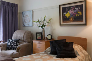Aged Care Home Bedroom