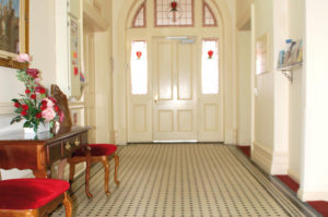 regis marleston entrance hall
