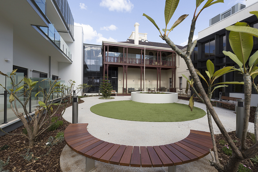 Courtyard North Fremantle Aged Care