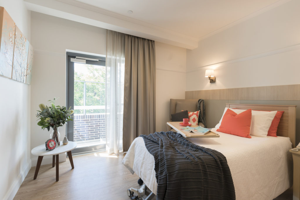 Aged Care Kingswood Bedroom