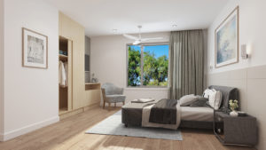 Regis Aged Care Facilities - Nedlands resident bedroom