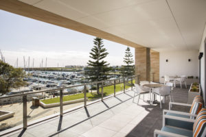 Regis Aged Care Facilities Port Coogee - View from resident balcony