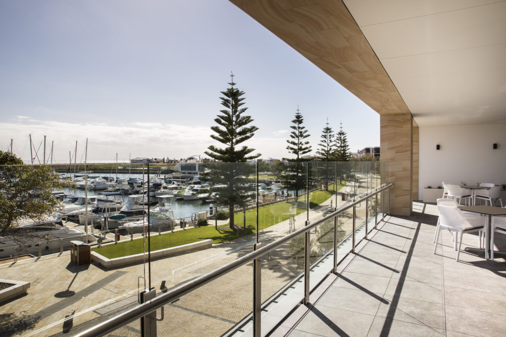 Regis Aged Care Facility Port Coogee - View of Port Coogee Marina