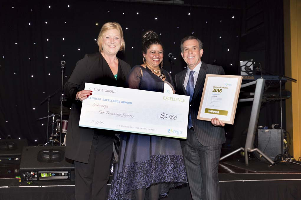 Clinical Excellence-Aishwarya -Regis Awards