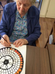 Residents at Regis Art Therapy Brighton