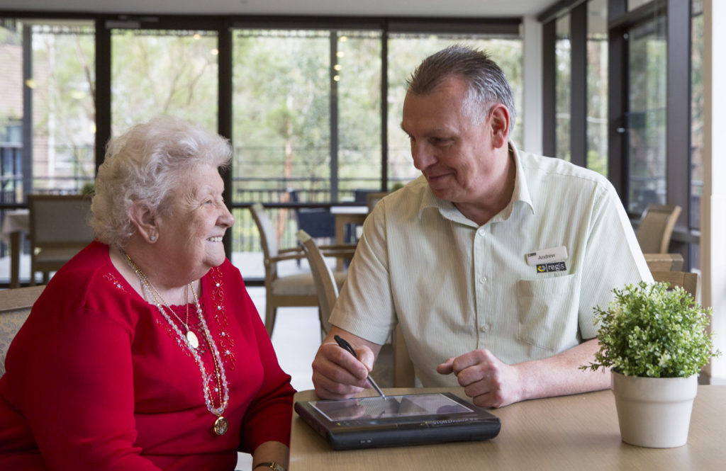 Aged Care in Central Coast - Lifestyle Program Regis Rose Bay