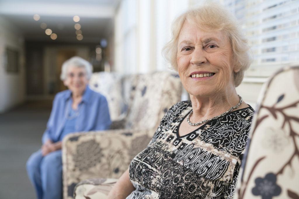 Aged Care Regis Sandringham - Residents Socialising