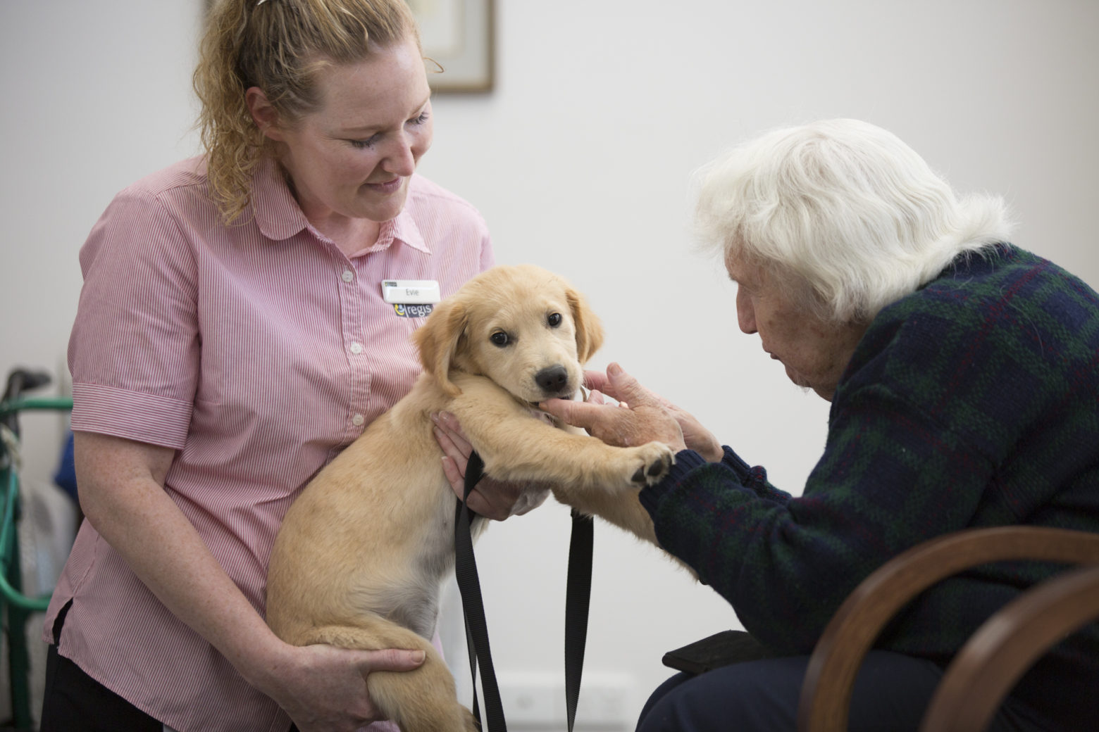 Regis Aged Care Pet Therapy