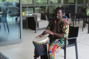 African Drummer Performance