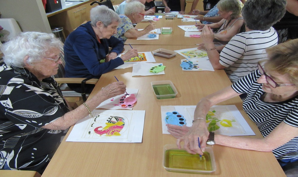 Batik Painting Aged Care Tiwi
