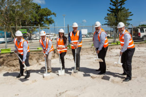 Port Coogee Sod Turning Aged Care Facilities