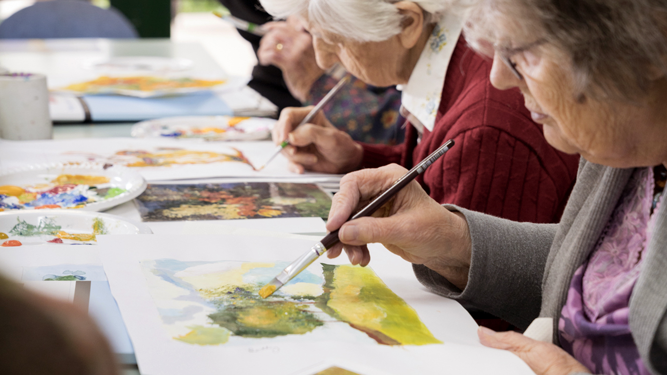 art therapy Karen pence rolled out plans for her art therapy platform this week we spoke with dr donna betts to learn about the profession and its current priorities.