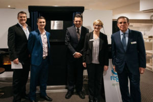 CEO Ross Johnson & Nick Xenophon Kingswood Opening