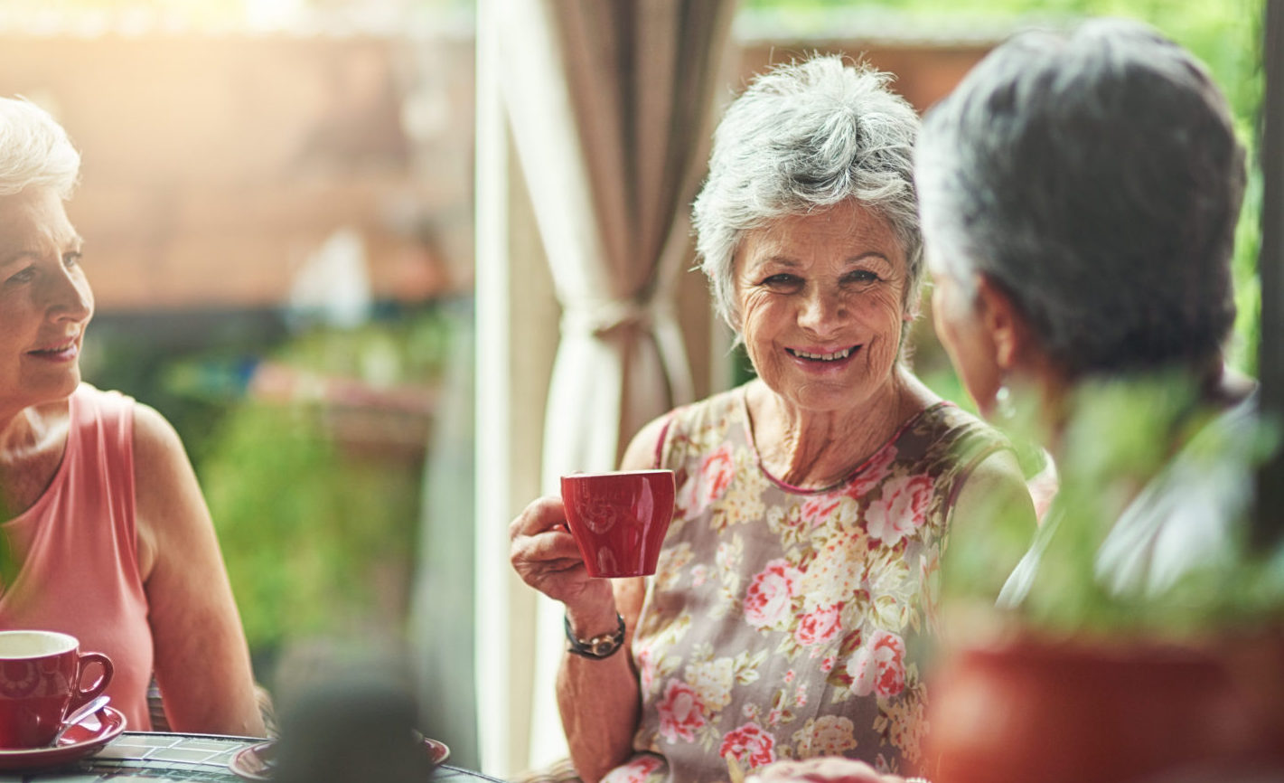 Aged Care Agency Melbourne - Ladies Enjoying Tea