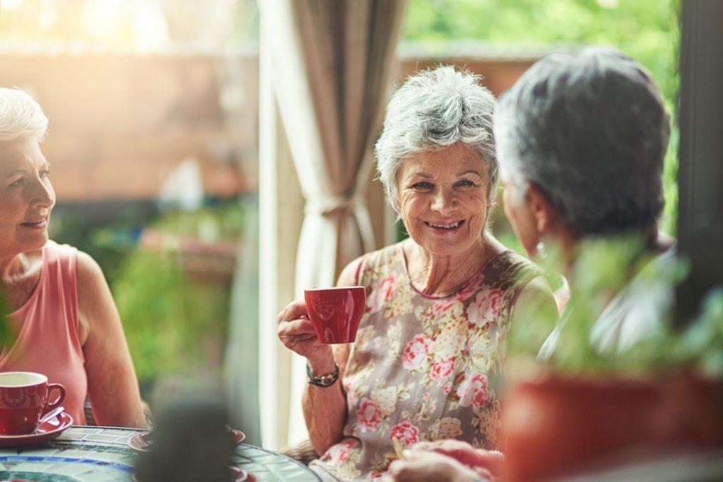 Regis Aged Care Hurstville - residents socialising