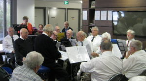 Regis Armdale Brass Band Performs