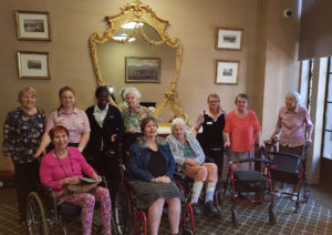 Aged Care Residents City Hall Brisbane