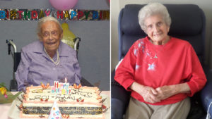 Regis residents Lorna & Beryl
