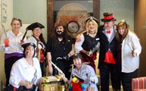 Regis Team Let's Talk Pirate