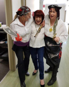 Staff & Resident Pirate Day