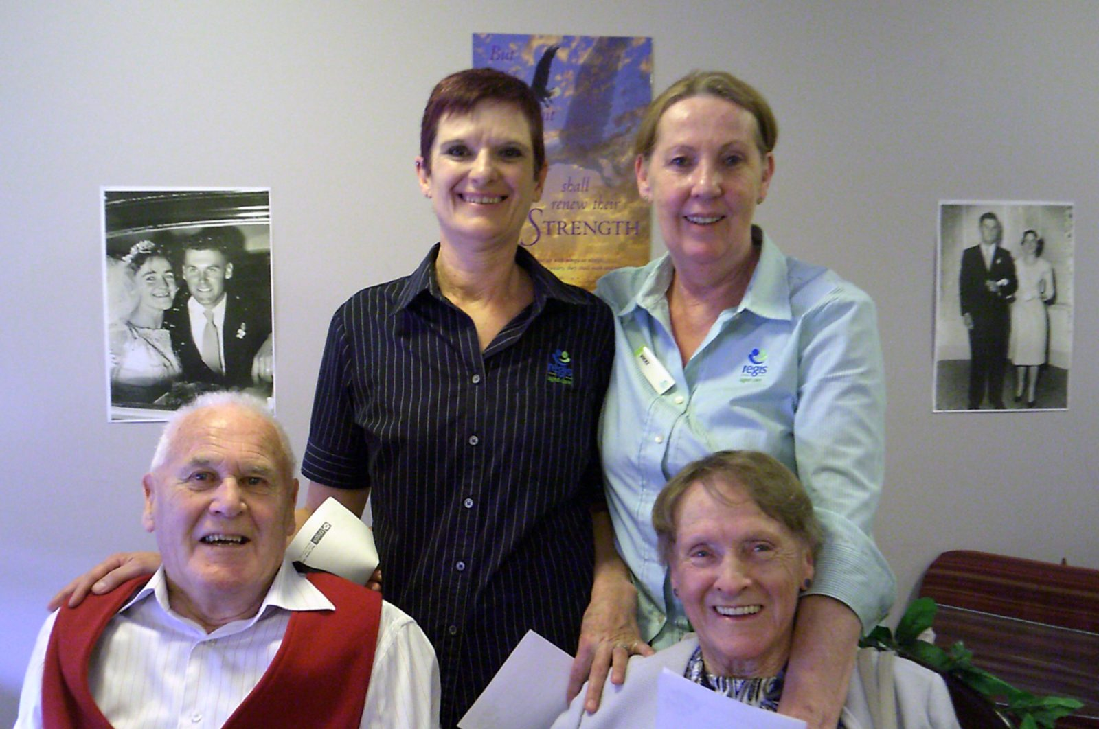 Regis Tasmania Staff & Residents