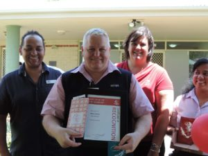 Wynnum Shawn Noakes employee of the moment