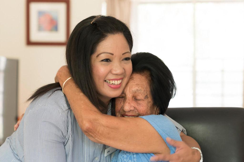 Regis Retirement Villages Sydney - Resident and Carer