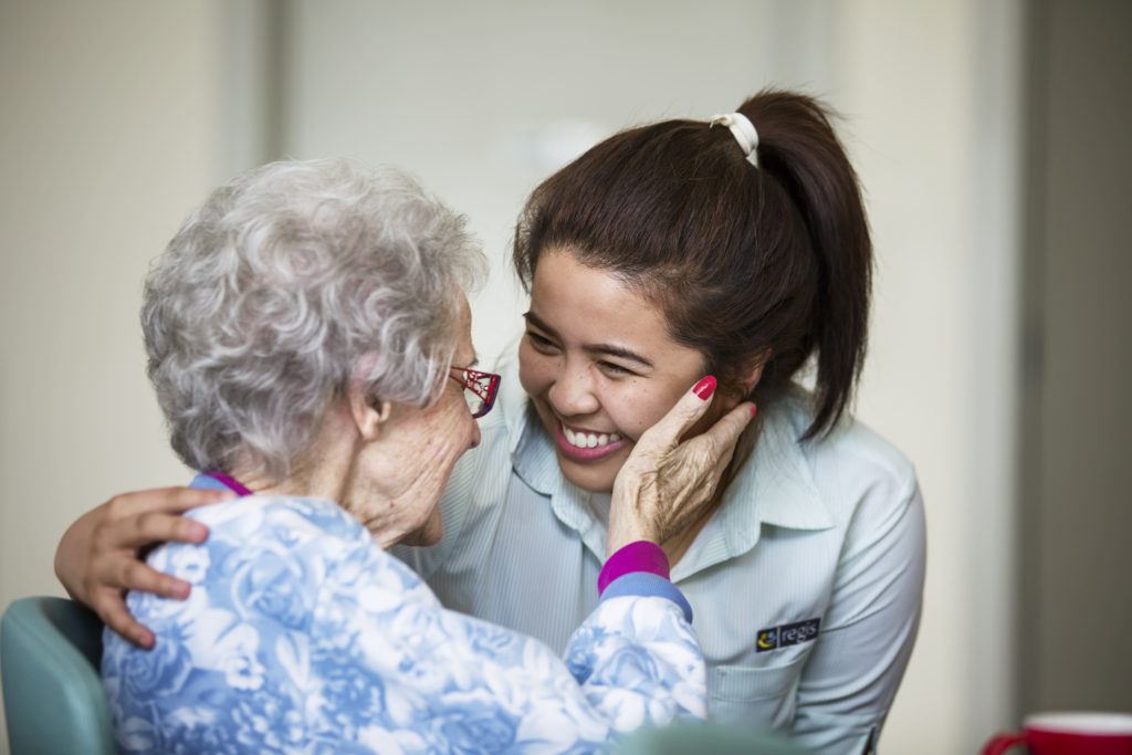home health care provider - care provider and resident