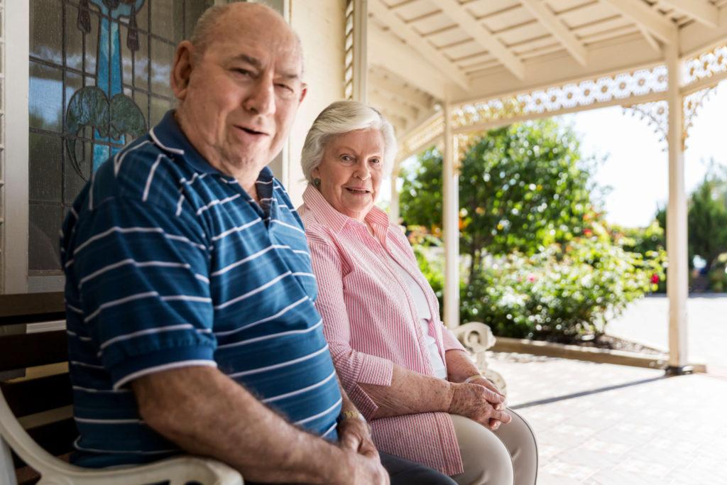 Regis Retirement Living - Residents enjoying the outdoors