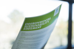 Regis Environmental Sustainability Statement