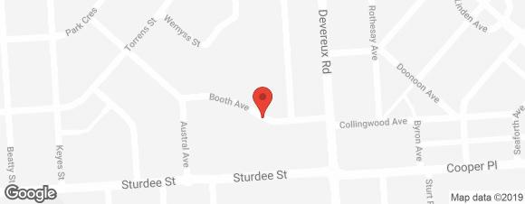Regis Burnside Map