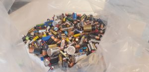 Regis Woodland's battery Recycling Program