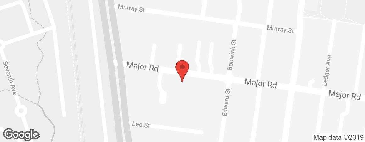 Regis Regis Fawkner Map